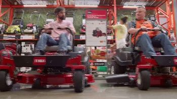 The Home Depot TV Commercial, 'Latest Innovations: RYOBI Trimmer and  Blower' - Video