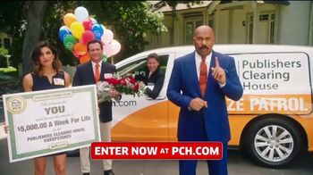 Publishers Clearing House TV Commercial, '$5,000 a Week for