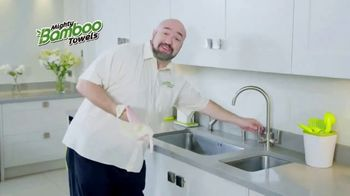 Mighty Bamboo Towels TV Commercial, \'Reusable Kitchen Towel ...