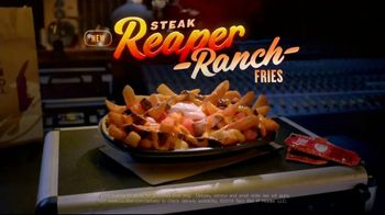 Taco Bell Steak Reaper Ranch Fries TV Commercial, 'Turn Up