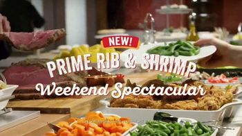 Golden Corral Prime Rib & Shrimp Spectacular TV Spot, 'Sin fin' [Spanish]