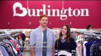 Burlington TV Spot, 'Dan & Lauren Know What Keeps Couples Happy'