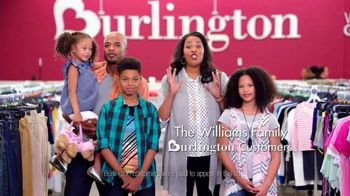 Burlington TV Spot, 'The Williams Family Goes Back to School'