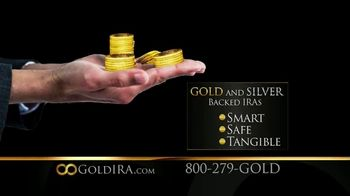 Capital Gold Group TV Spot, \'Gold and Silver-Backed IRA\'