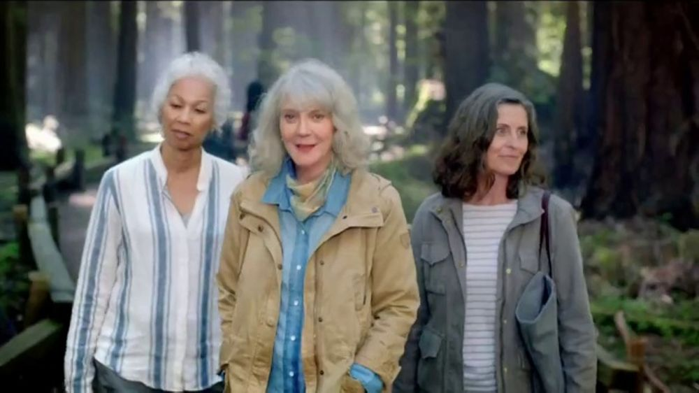 Prolia Tv Commercial Hiking Featuring Blythe Danner