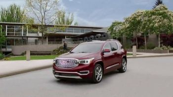 2017 GMC Acadia SLE-1 TV Spot, 'Third Row Like a Pro'