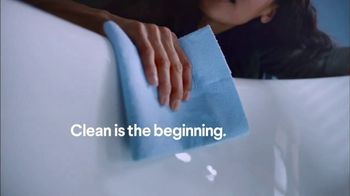 Clorox TV Spot, 'A Clean Bathroom Is the Beginning' - Thumbnail 3