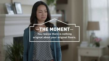 Lowe's TV Spot, 'The Moment: Original Floors: Tile Discount'