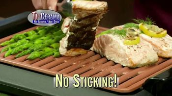 Gotham Steel Smokeless Grill TV Spot, 'Barbecue Indoors'