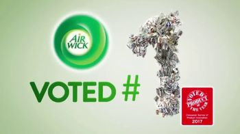 Air Wick Scented Oil Warmer TV Spot, 'Voted Product of the Year' - Thumbnail 2
