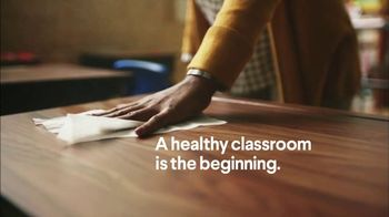 Clorox TV Spot, \'A Healthy Classroom Is the Beginning\'