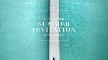 Lincoln Summer Invitation Sales Event TV Spot, 'Getaway'