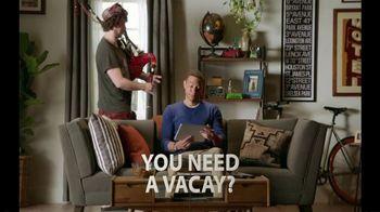 VISA Checkout TV Spot, 'Need a Vacay'