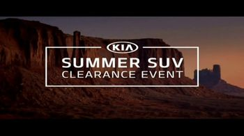 Kia Summer SUV Clearance Event TV Spot, 'Award-Winning SUVs' - Thumbnail 1