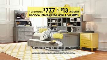 Rooms To Go Kids Anniversary Sale Tv Commercial Twin Bookcase Daybed Video