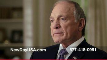 NewDay USA 100 VA Loan TV Spot, 'Navy Spouse' Featuring Tom Lynch