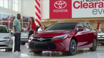 Toyota National Clearance Event TV Spot, 'Yours One Day' - Thumbnail 10