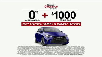 Toyota National Clearance Event TV Spot, 'Yours One Day' - Thumbnail 8