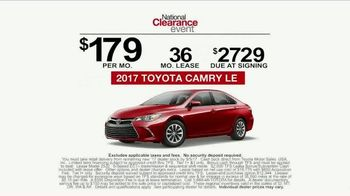 Toyota National Clearance Event TV Spot, 'Yours One Day' - Thumbnail 9
