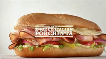 Arby's Smoked Italian Porchetta TV Spot, 'Grandmother-Approved'