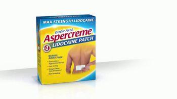 Aspercreme Lidocaine Patch TV Spot, 'Bowling'