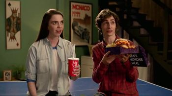 Jack in the Box Sriracha Curly Fry Burger Munchie Meal TV Spot, 'Basement'