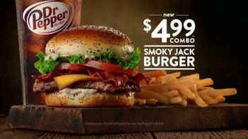 Jack in the Box Smoky Jack Burger Combo TV Spot, 'You Crave It'