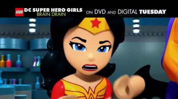 LEGO DC Super Hero Girls: Brain Drain Home Entertainment TV Spot