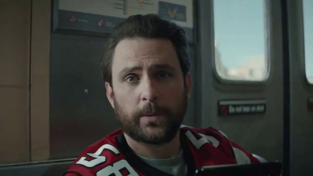 directv nfl sunday ticket tv commercial fans featuring charlie day ispottv