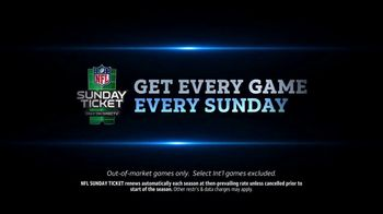 DIRECTV NFL Sunday Ticket TV Spot, 'Fans' Featuring Charlie Day - Thumbnail 8