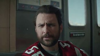 DIRECTV NFL Sunday Ticket TV Spot, 'Fans' Featuring Charlie Day - Thumbnail 2