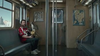 DIRECTV NFL Sunday Ticket TV Spot, 'Fans' Featuring Charlie Day - Thumbnail 4