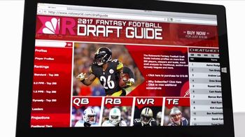 Rotoworld.com TV Spot, '2017 Draft Guide' - 10 commercial airings