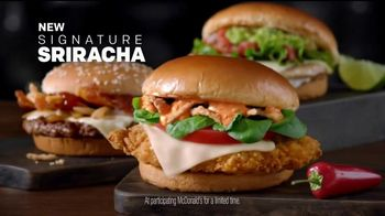 McDonald's Signature Sriracha Sandwich TV Spot, 'Right Amount of Spice' - Thumbnail 9