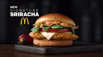 McDonald's Signature Sriracha Sandwich TV Spot, 'Right Amount of Spice' - Thumbnail 1
