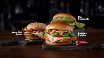 McDonald's Signature Sriracha Sandwich TV Spot, 'Right Amount of Spice' - Thumbnail 2