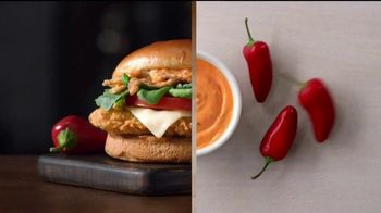 McDonald's Signature Sriracha Sandwich TV Spot, 'Right Amount of Spice' - Thumbnail 5