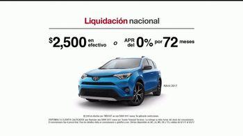 Toyota Liquidación Nacional TV Spot, '2017 RAV4' [Spanish] - Thumbnail 7