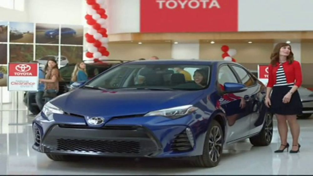 toyota national clearance event tv commercial 39 could be. Black Bedroom Furniture Sets. Home Design Ideas