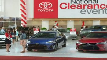 Toyota National Clearance Event TV Spot, 'Could Be Yours: 2017 Tundra'