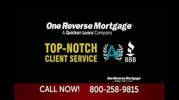 One Reverse Mortgage TV Spot, \'Attention Homeowners 62 and Older\'