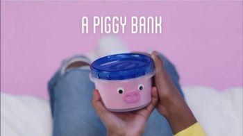 Ziploc TV Spot, 'More Than a Container: A Piggy Bank'