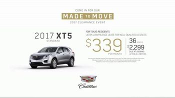 Made to Move 2017 Clearance Event: 2017 XT5: Research thumbnail