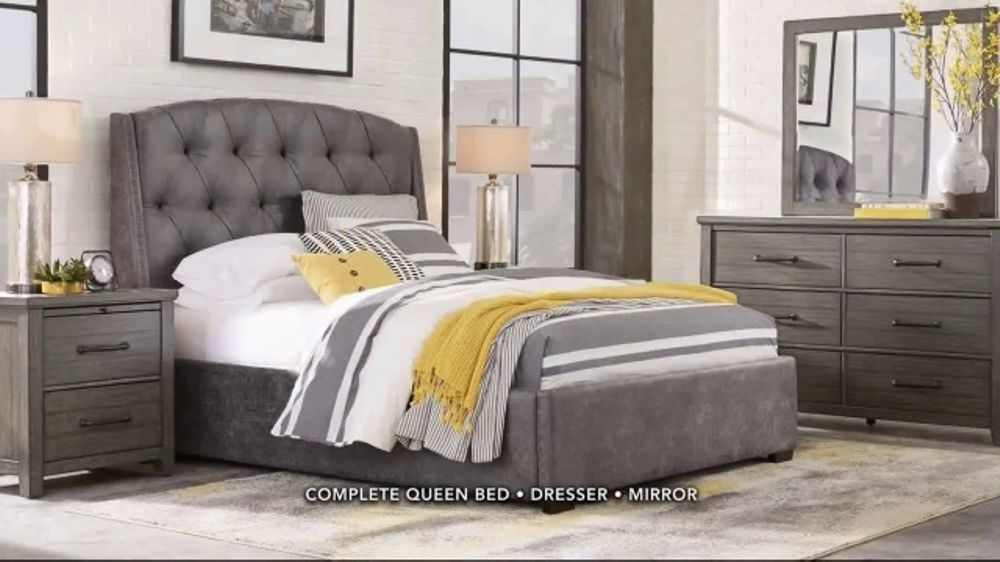 rooms to go tv commercial 39 bring your bedroom to life 39. Black Bedroom Furniture Sets. Home Design Ideas
