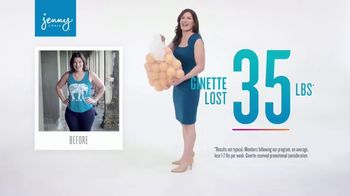 Jenny Craig TV Spot, 'Ginette: Lose 20 for 20'
