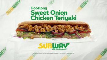 Subway Sweet Onion Teriyaki TV Spot, 'Y te vas' [Spanish]