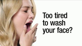 Neutrogena Makeup Remover Towelettes TV Spot, 'Too Tired?' Ft. Olivia Holt