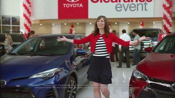 Toyota National Clearance Event TV Spot, '2017 Highlander'