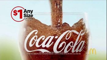 McDonald\'s $1 Any Size Soft Drink TV Spot, \'Summer Bucket List: Coca-Cola\'