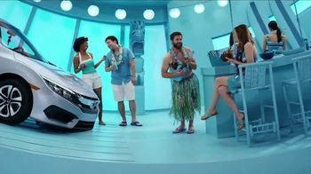 Honda Summerbration Sales Event TV Spot, 'Ice Cream: 2017 Civic LX'